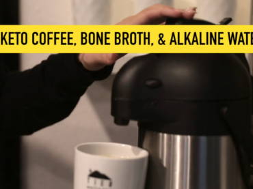 Bone Broth & Keto Coffee Bar