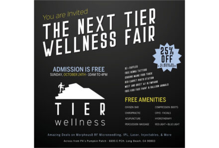 You are invited  to The Next TIER Wellness Fair in Long Beach, CA
